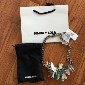 Bimba y Lola necklace with tags